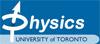 University of Toronto: Department of PHYSICS